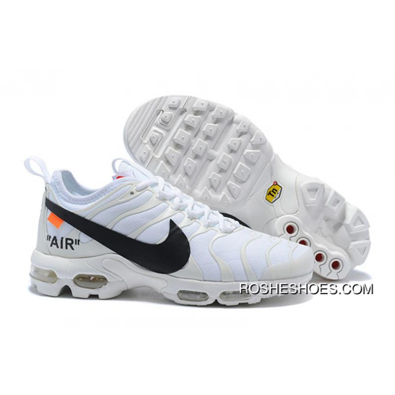 d8a198732e58 Super Deals Custom Off-White X Nike Air Max Plus Tn Ultra White ...