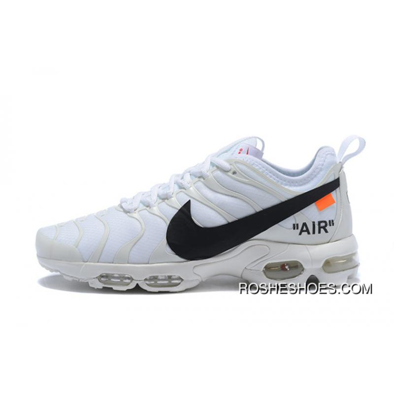 lowest price 2df79 8e1a9 ... Super Deals Custom Off-White X Nike Air Max Plus Tn Ultra White ...