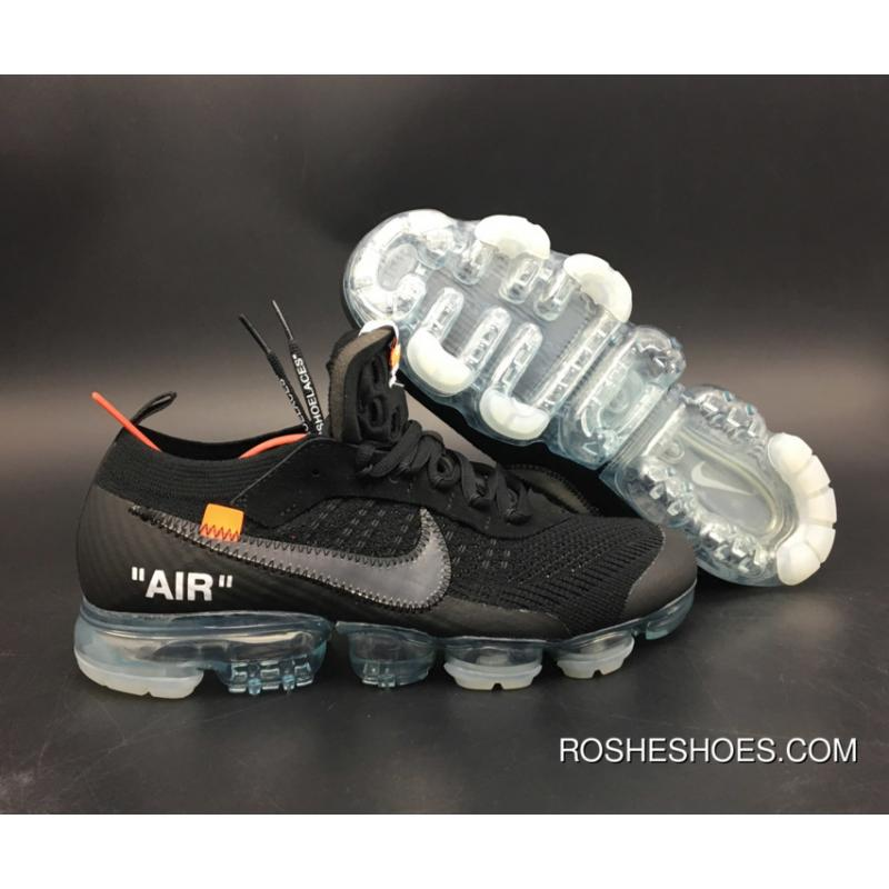 newest collection f20ac 20cc4 ... New Style Off-White X Nike Air Vapormax Black Total Crimson-Clear Aa3831  ...