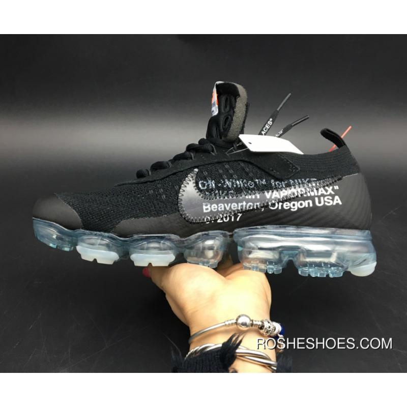 newest collection b8a2b a2c31 ... New Style Off-White X Nike Air Vapormax Black Total Crimson-Clear Aa3831  ...
